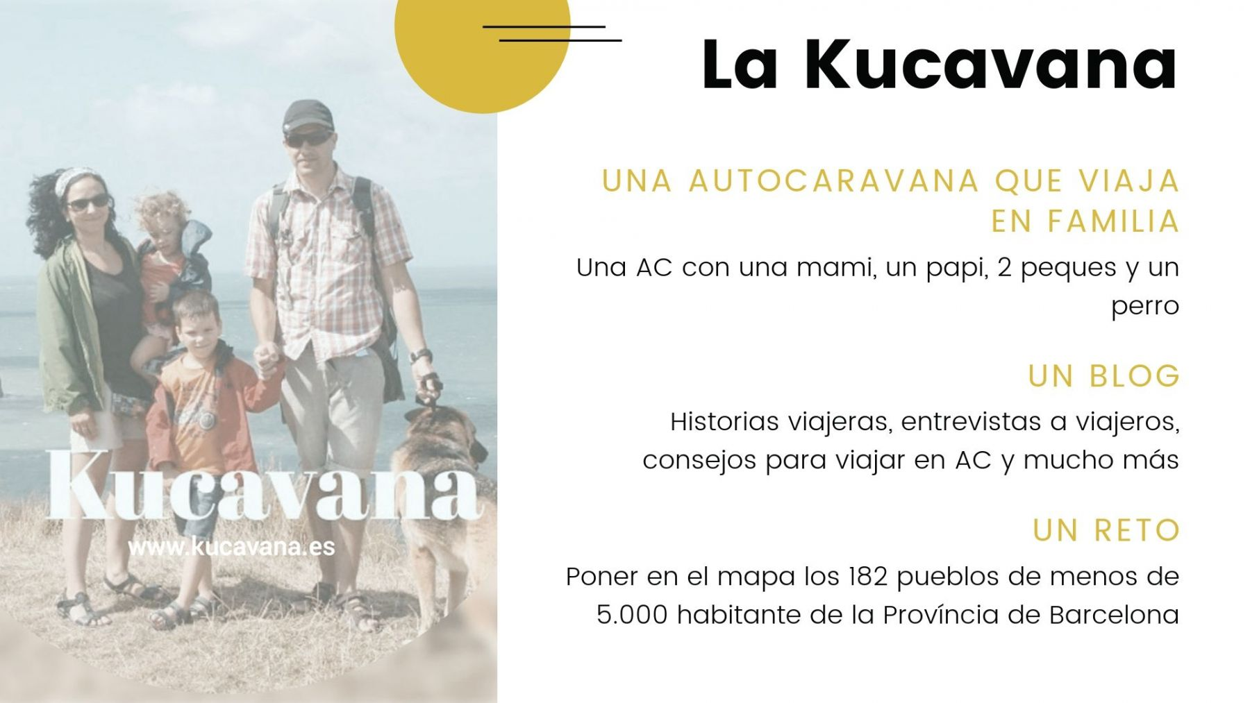 The kucavana, a family in a motorhome, a blog and a challenge