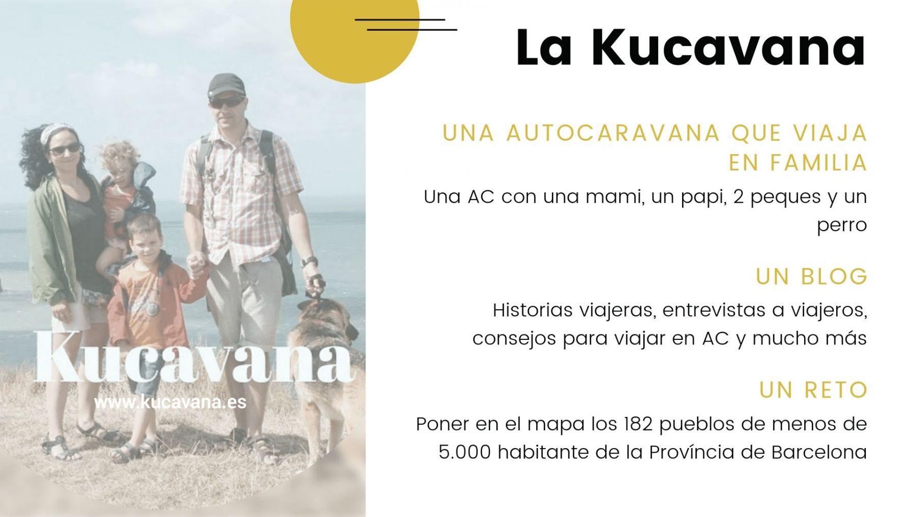 La kucavana, una familia en autocaravana, un blog y un reto