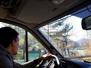 Conducir una autocaravana