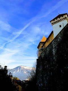 El Castillo de Annecy en Francia