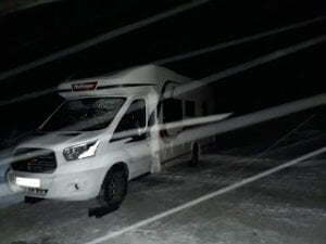 Winter tires or chains for the motorhome? What to choose?