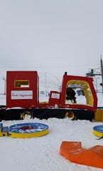 Portè-Puymorens, aprendiendo a esquiar en pistas gratuitas por el Pirineo, esta con pista de trineo y chiquipark incluido!
