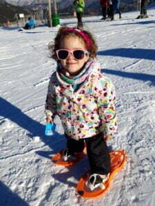 1 route proposal and 10 tips to start snowshoeing with children