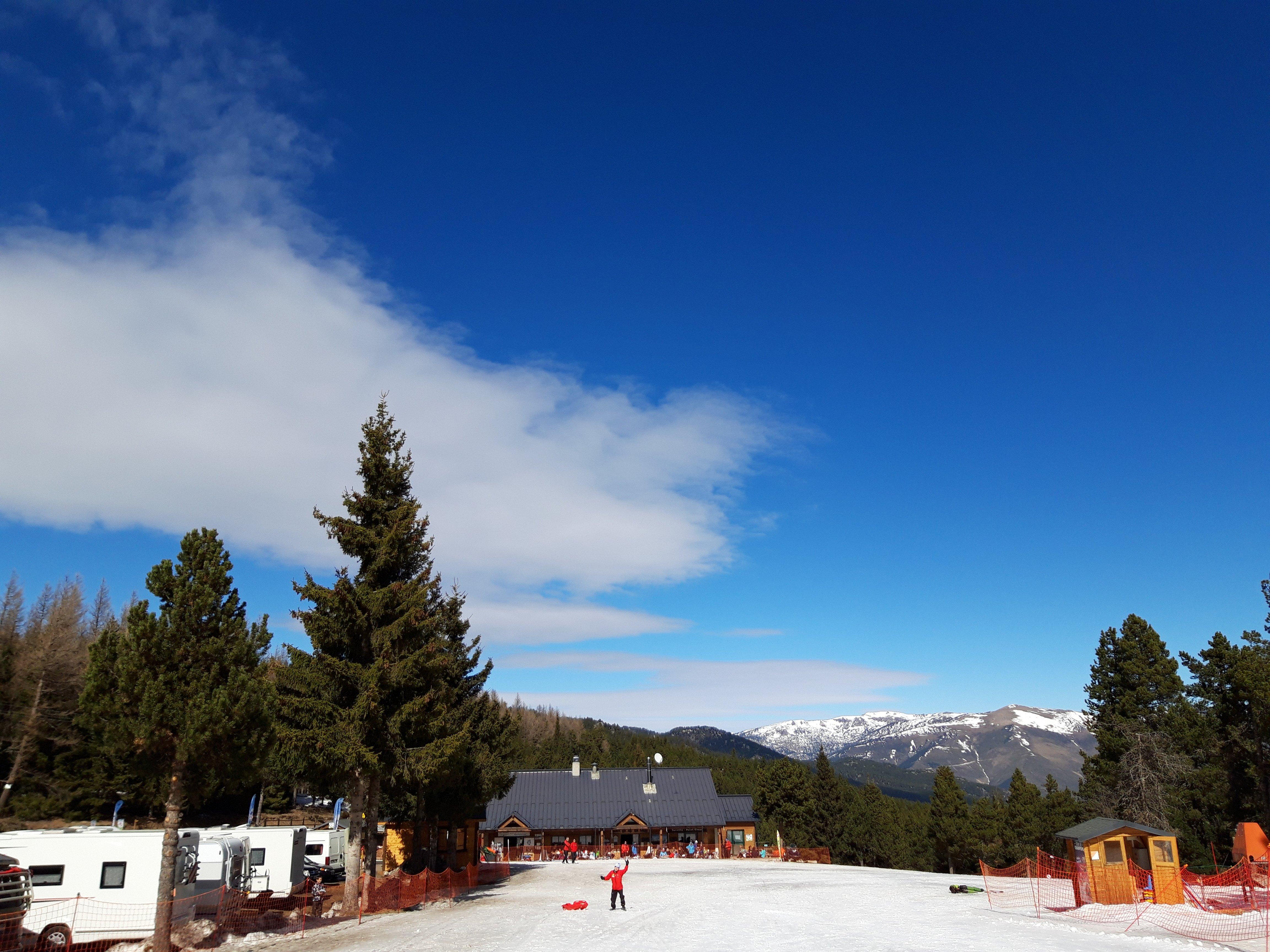 El Capcir, ruta de esquí nórdico, raquetas de nieve en autocaravana y más