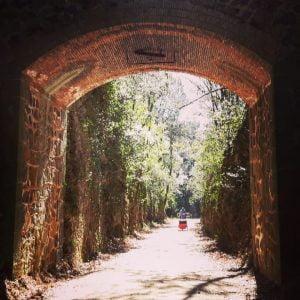 Túnel de la vía verde del Carrilet
