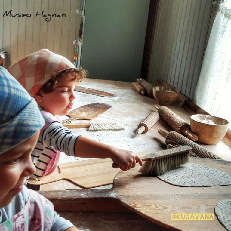 Actividades infantiles en museos suecos
