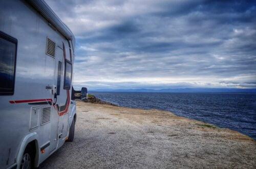 Nordkapp en autocaravana o camper