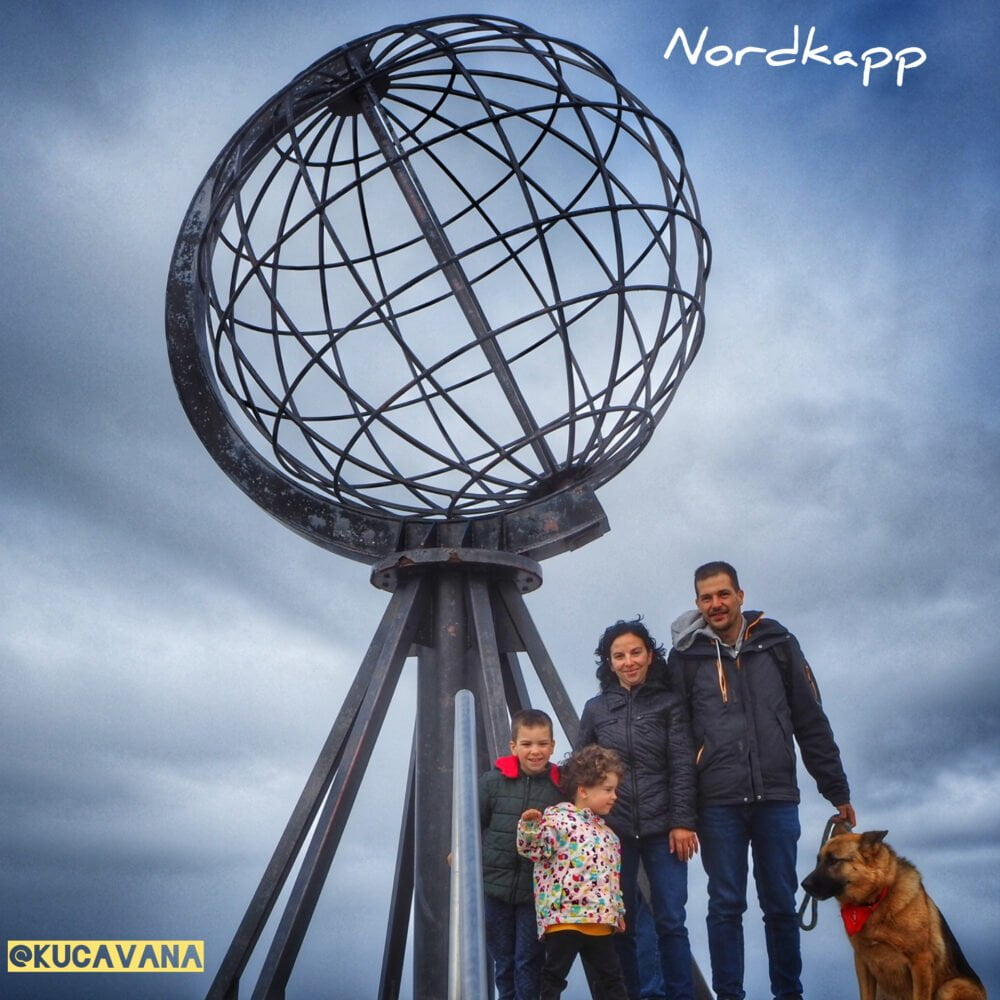 Nordkapp by motorhome or camper