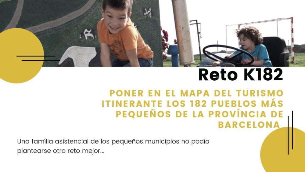 Reto k182 micropueblos Barcelona