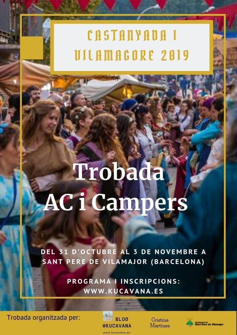 Apprenez à connaître la ville de Kucavana! Rencontre de l'AC et des campeurs avec Castañada et la foire médiévale de Vilamagore