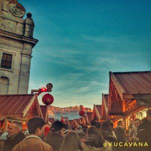 Annecy con su mercado de Navidad