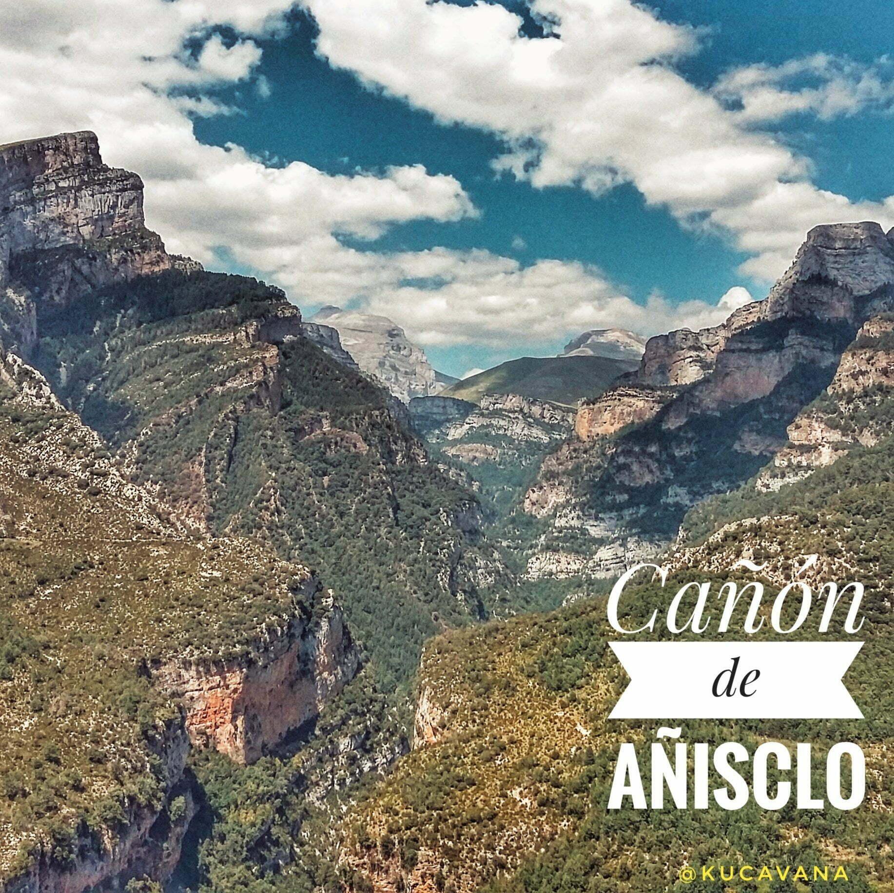 Vistas de infarto en carreteras de infarto: Valle de Vió y el Cañón de Añisclo