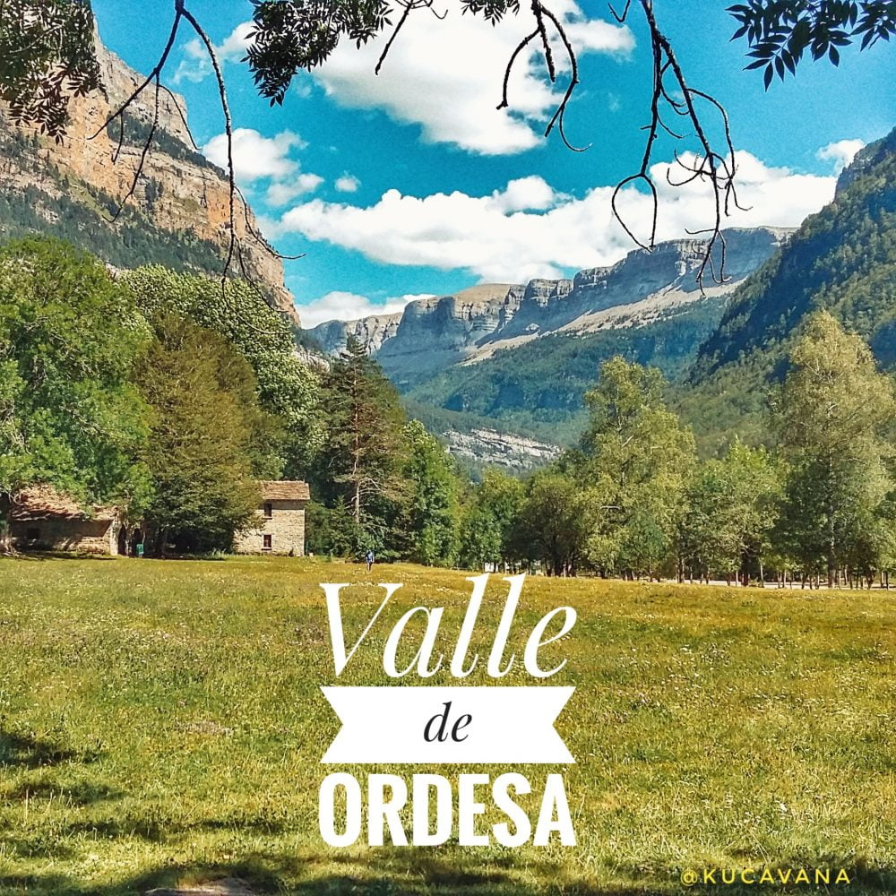 Valle de Ordesa en autocaravana. Ruta Pirineos Huesca