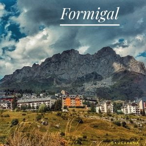 Formigal. Tena Valley. Huesca pyrenees route