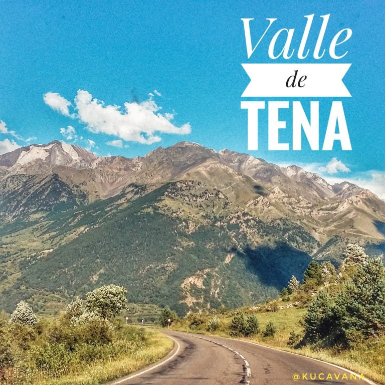 Tena Valley. Huesca pyrenees route