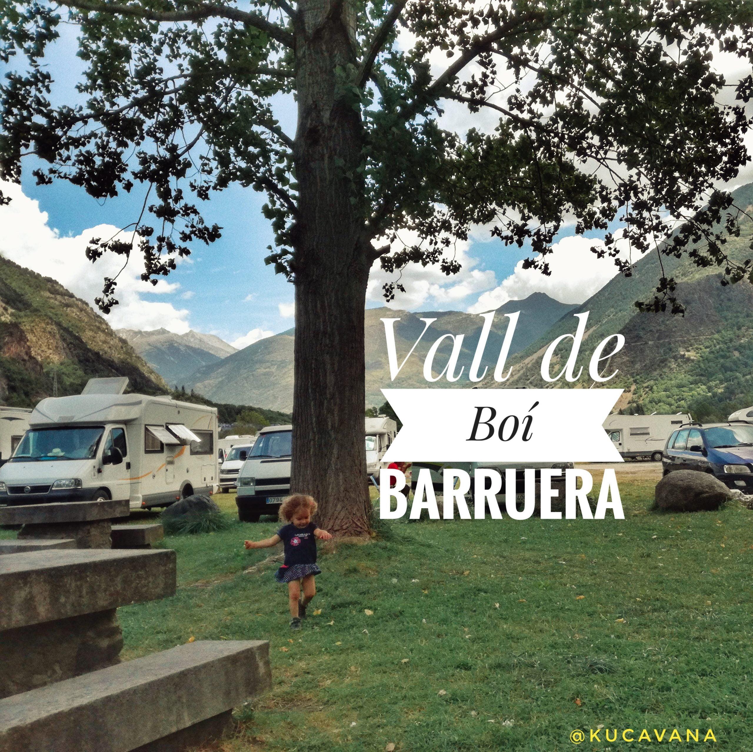 Ruta por la Vall de Boí y la gran área de autocaravanas de Barruera
