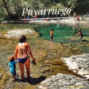 Enjoy emerald water pools in: Puyarruego