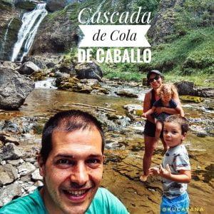 Cola de Caballo en la Valle de Ordesa. Ruta Pirineos Huesca