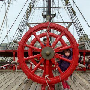 Barco corsario Le Roy