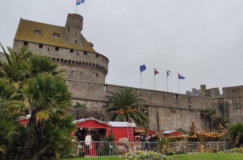 Mercado navideño de Saint-Malo