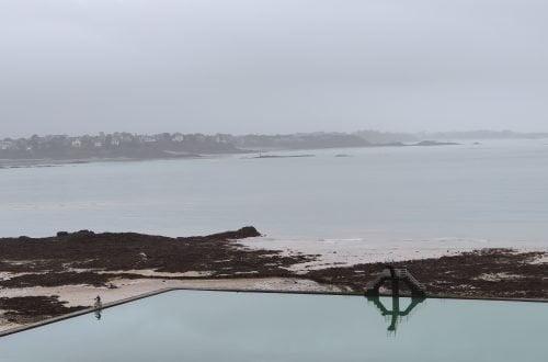 Saint-Malo, piscina en la playa, talosoterapia