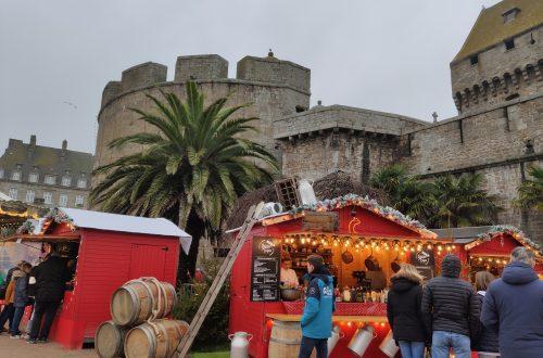 Saint-Malo, mercado de navidad