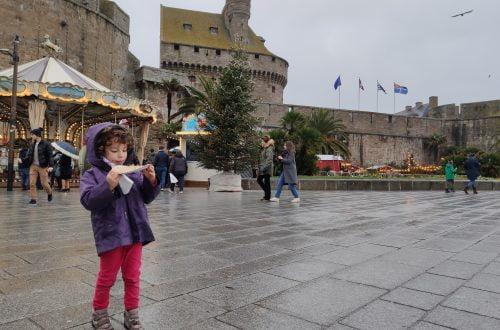 Saint-Malo, comiendo crepes