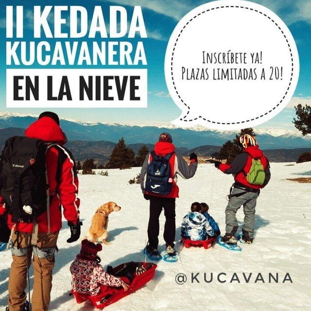 Quedada de familias kucavaneras para un Carnaval en la Nieve 2020