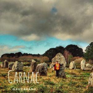 carnac francia, menhires y dolmenes