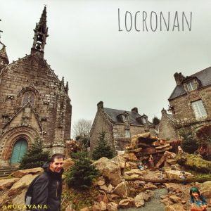Locronan catedral