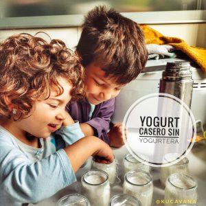 Hacer yogurt casero sin yogurtera, ¡el más cremoso y facilísimo!