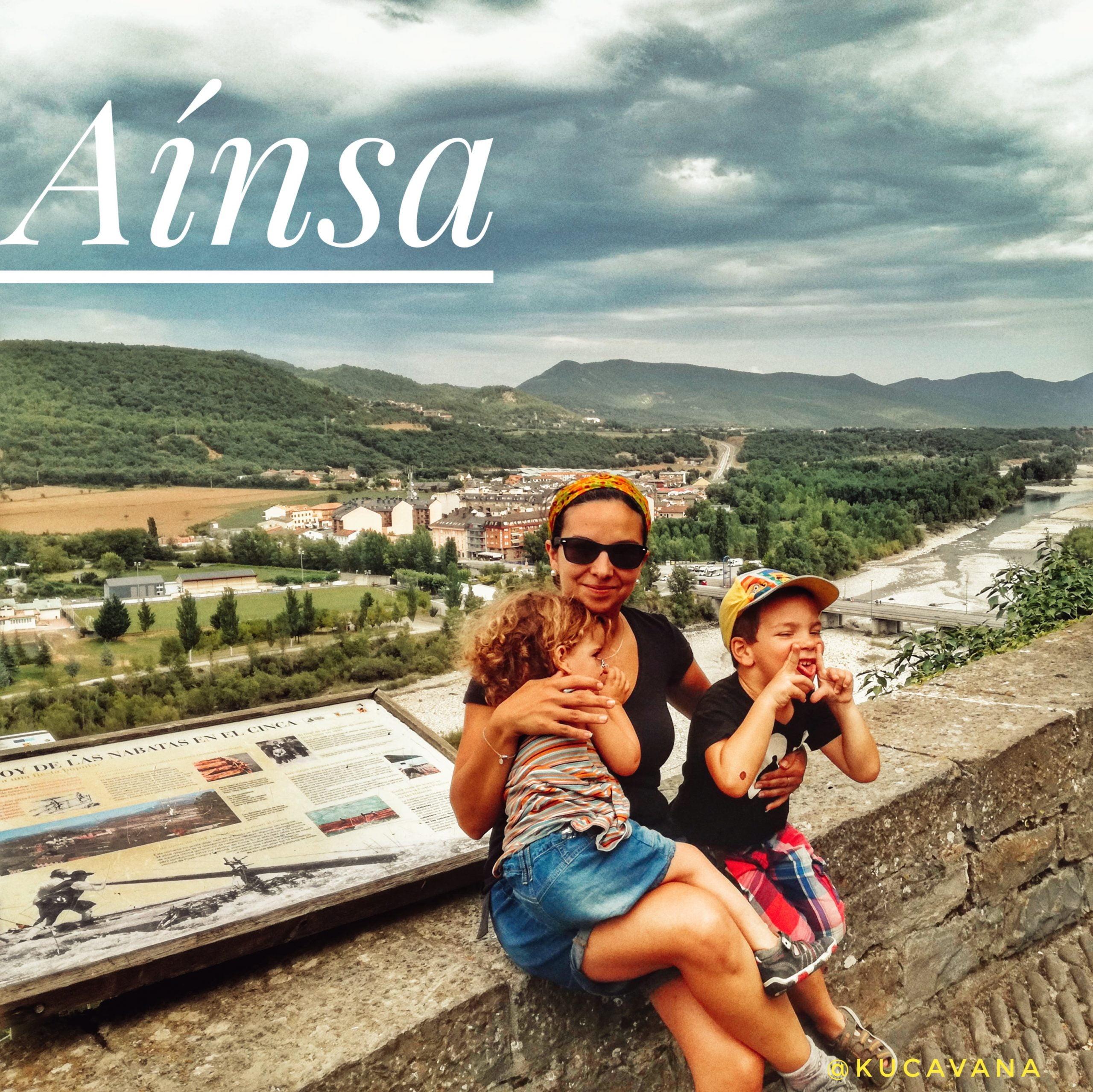 Aínsa el pueblo más camper friendly de España