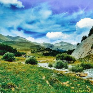 Valle de zuriza by motorhome. Aragonese Pyrenees by motorhome