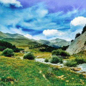Valle de zuriza en autocaravana. Pirineos aragoneses en autocaravana