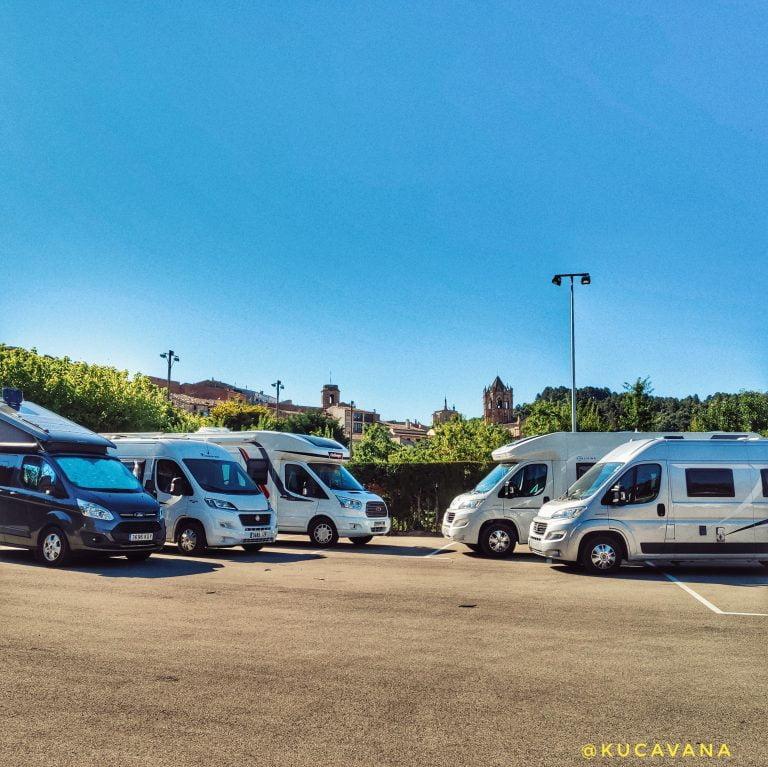 area de autocaravanas Vallbona de les Monges ( Urgell )