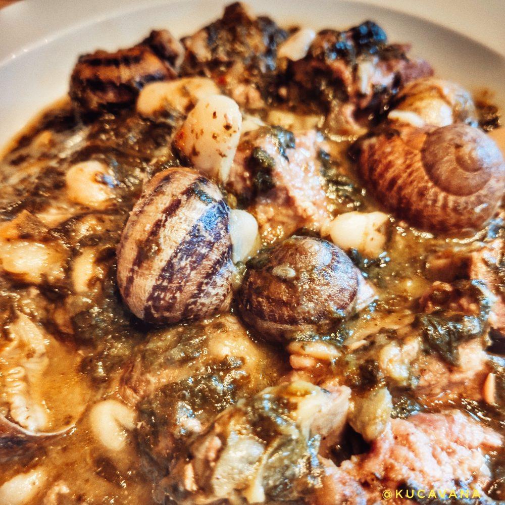 Cassola del tros menjar típic de l' Urgell
