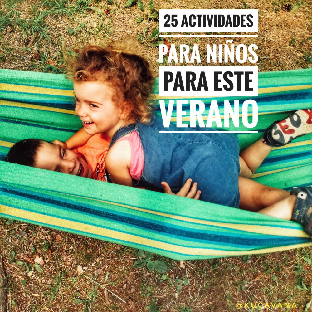 25 activities for children this summer ☀️ ▷ 【2020】