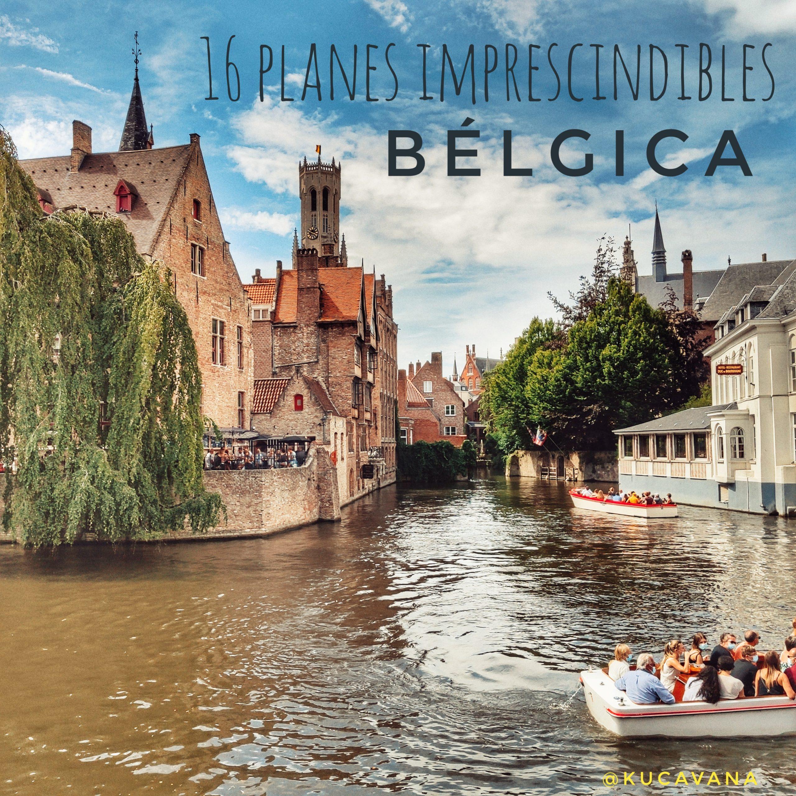 ⭐ Belgique en camping-car ou camping-car: itinéraire avec 16 destinations incontournables ⭐
