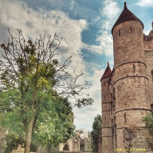 gante castillo de gravensteen gante belgica