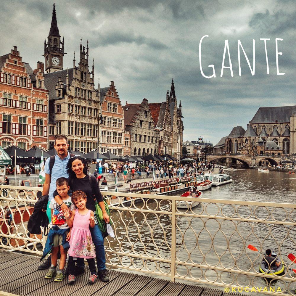 Gante Belgica que ver en un dia