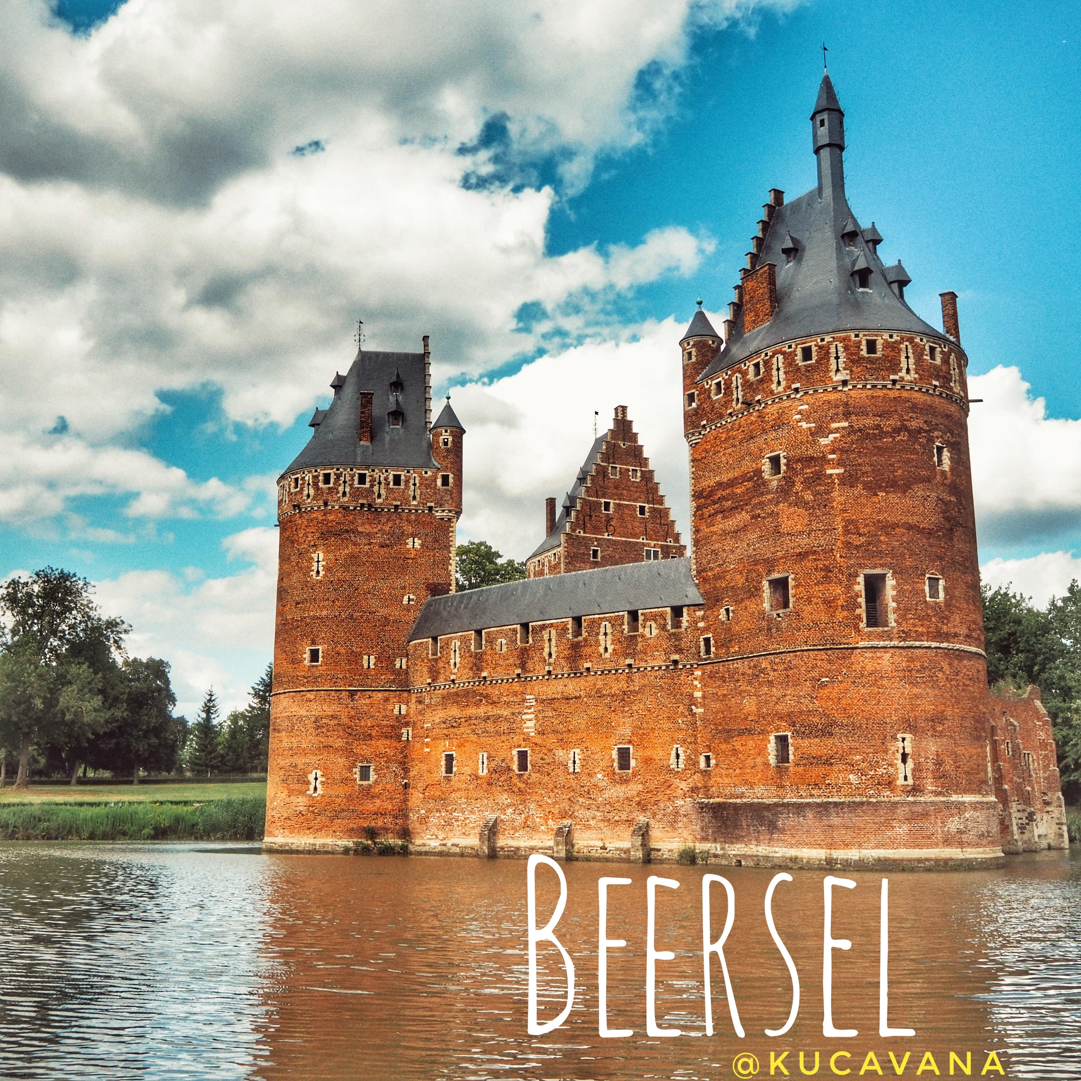Beersel, un château belge dans le plus pur style du Brabant flamand