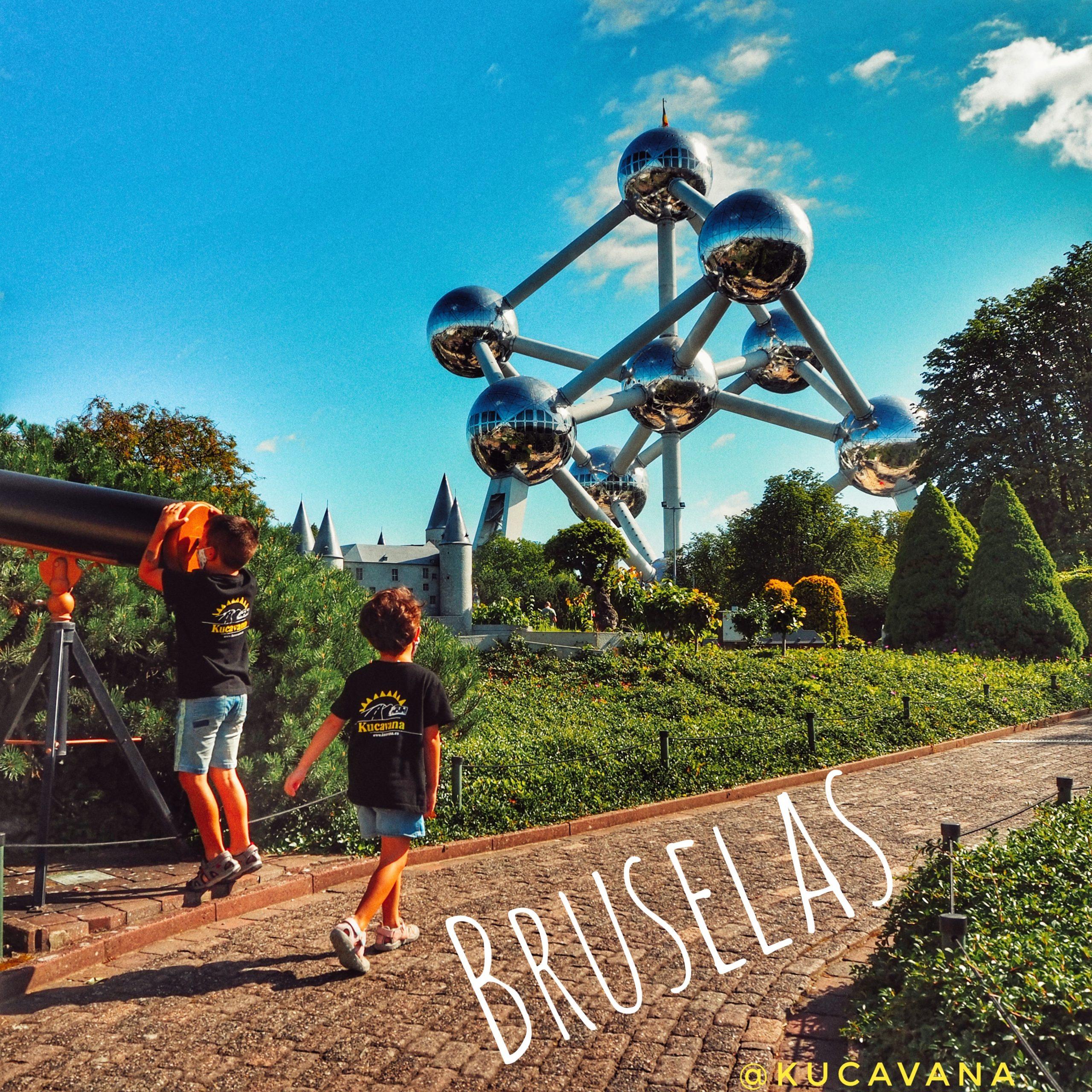 Bruselas con niños