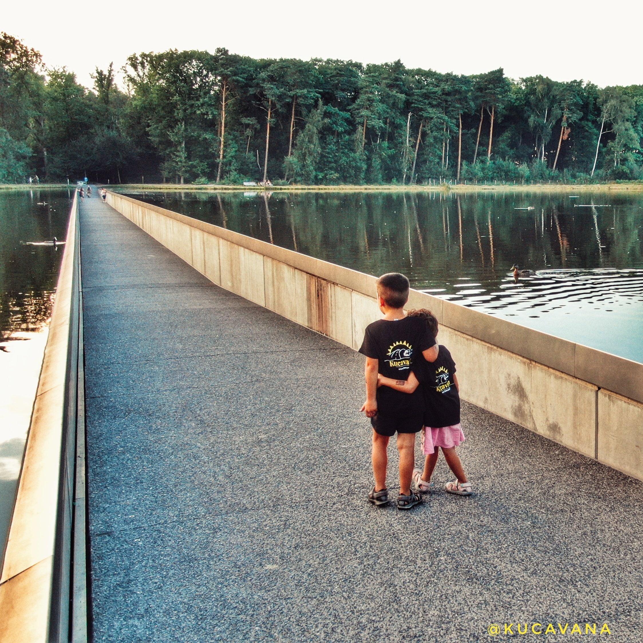 belgica en bicicleta en bokrijk park