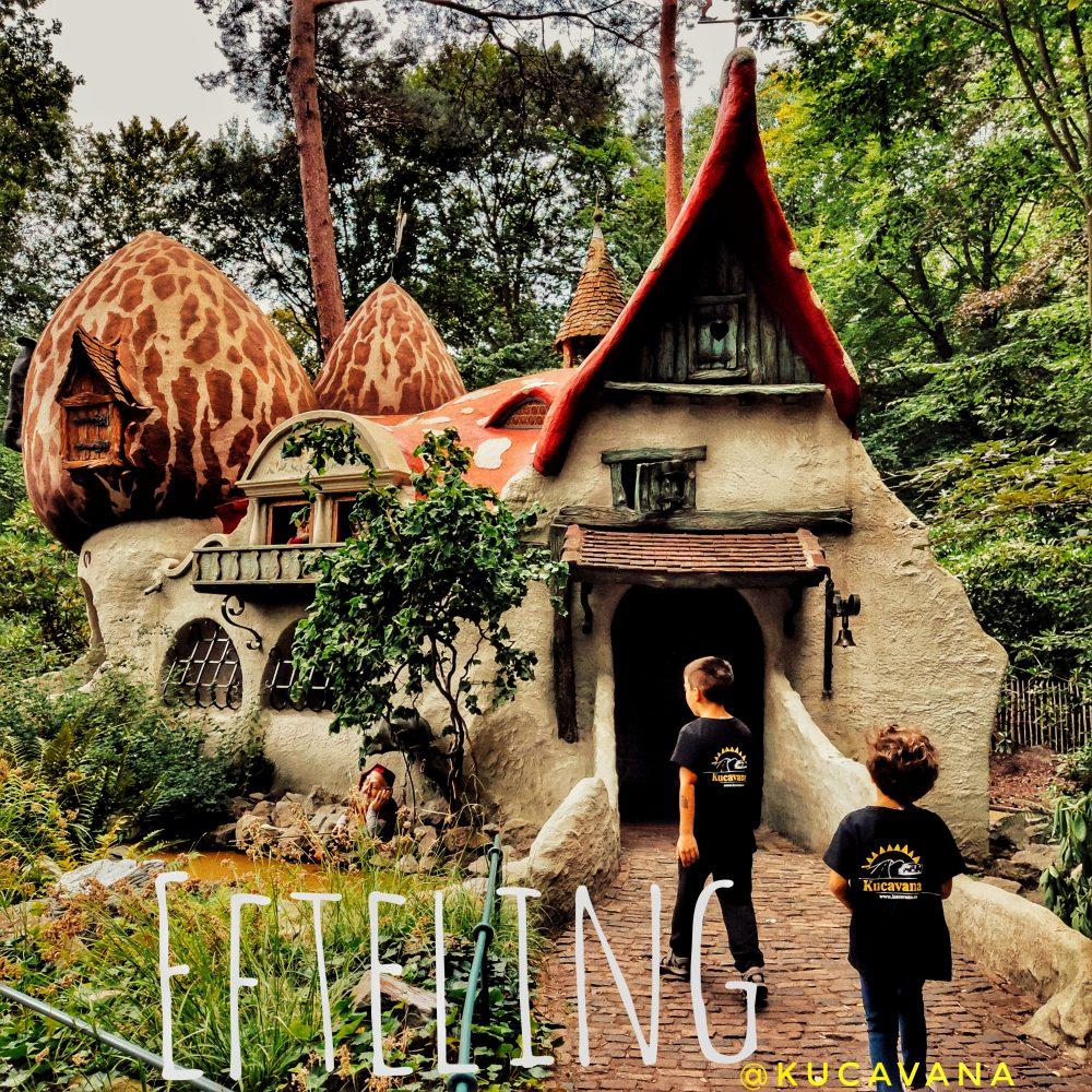 Efteling con niños