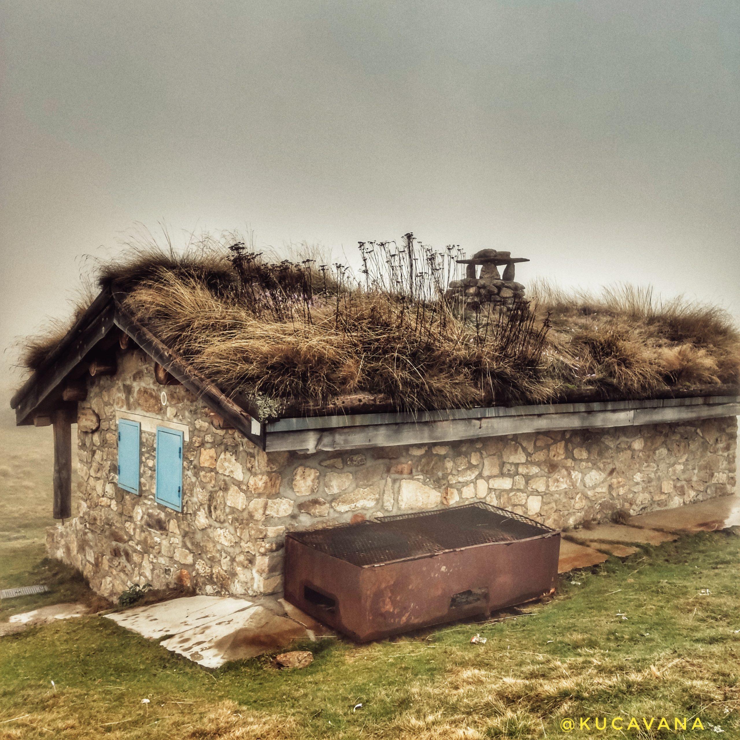 Plateau de Beille cabaña de pastores