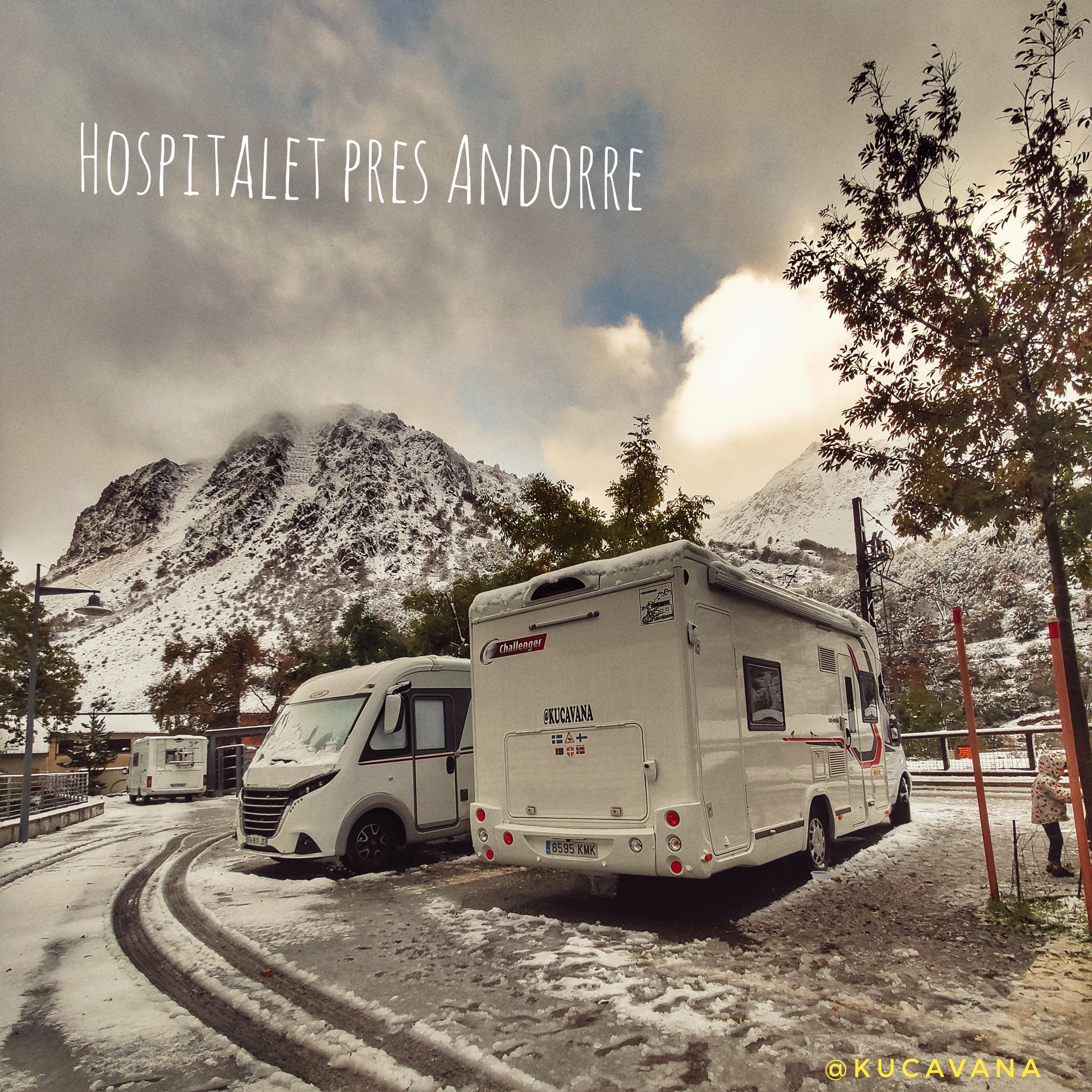 Hospitalet pres Andorre, le carrefour idéal comme camp de base