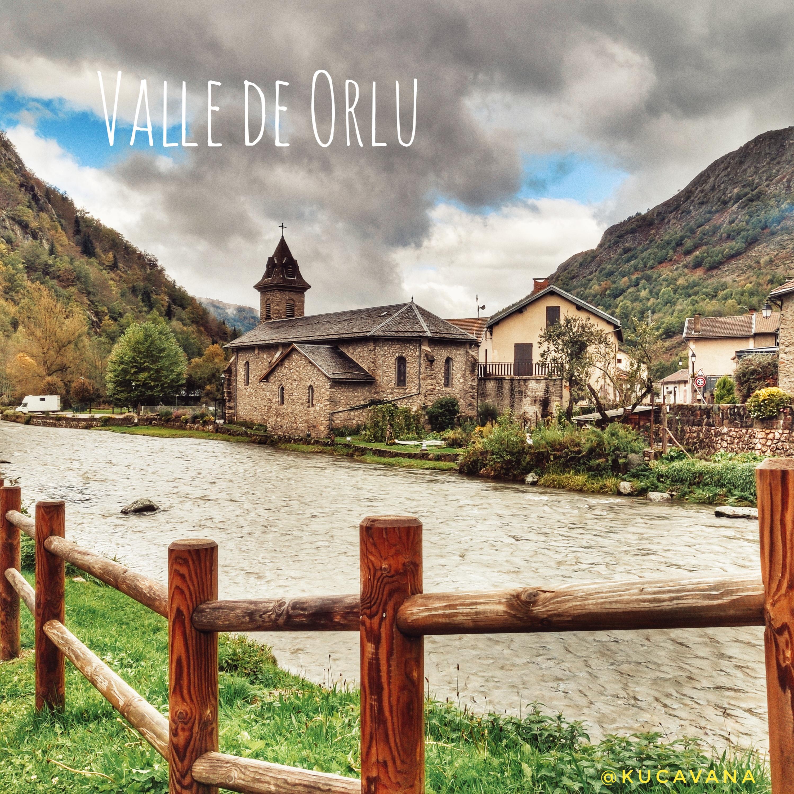 Pyrénées françaises avec enfants: Vallée d'Orlu, étape incontournable