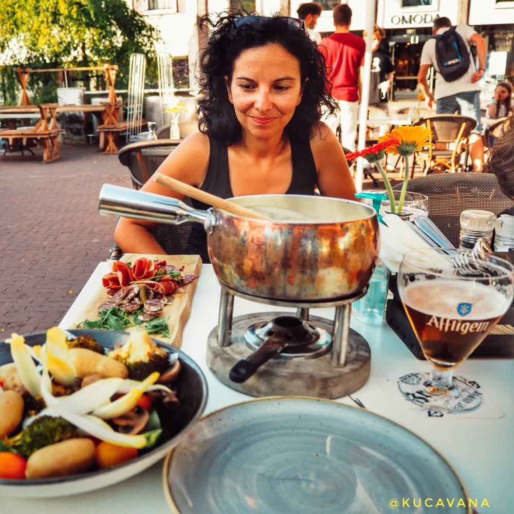 Gouda Netherlands donde comer