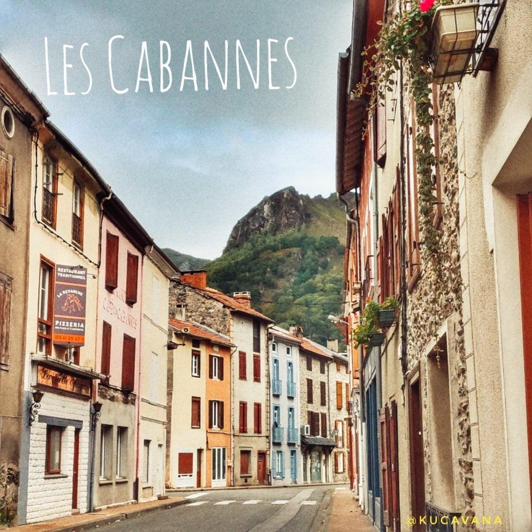 Les Cabannes, un bon endroit pour se reposer avec votre camping-car ou camping-car