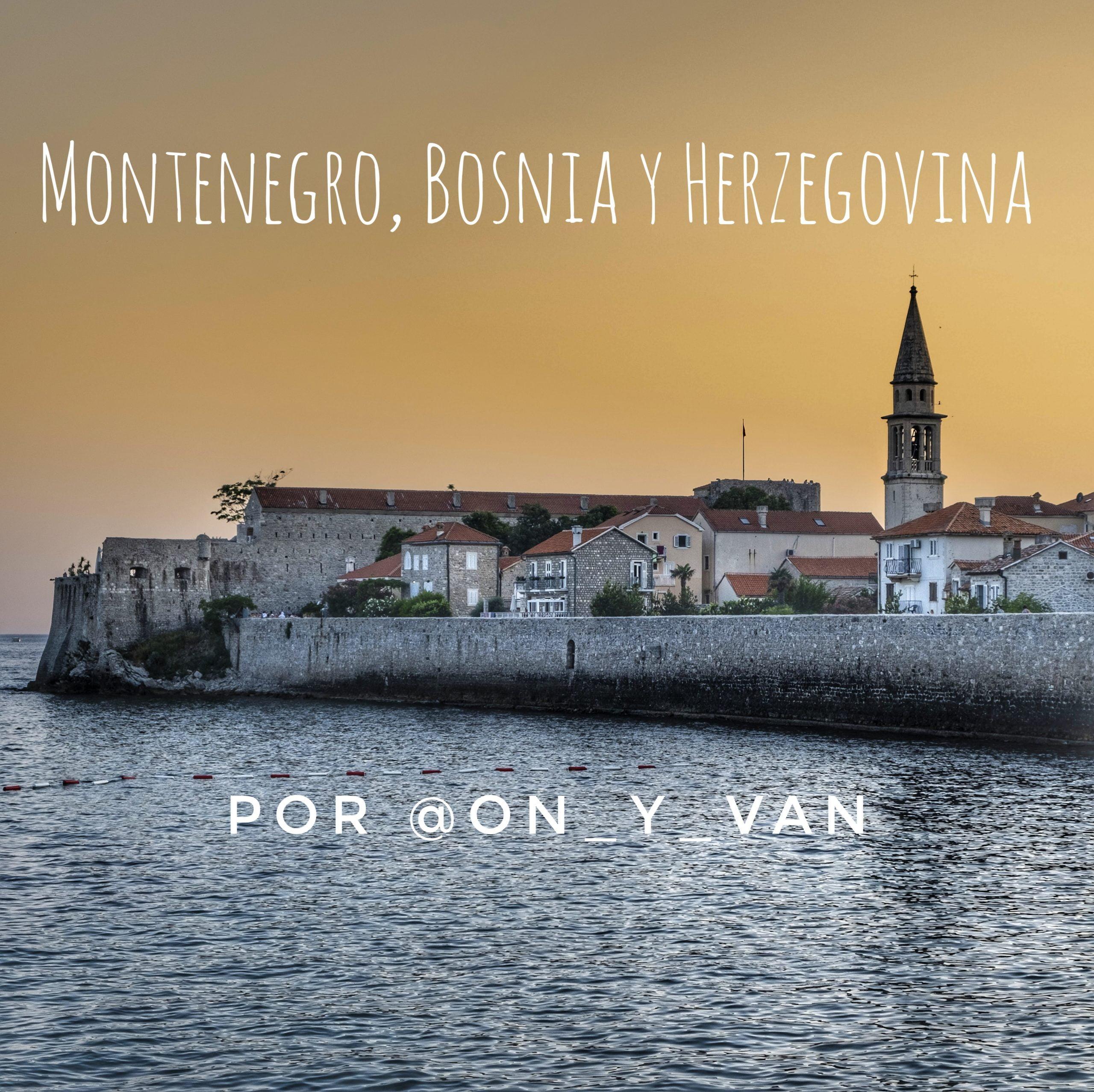 Route au-delà des Balkans typiques: Monténégro, Bosnie-Herzégovine par @on_y_van